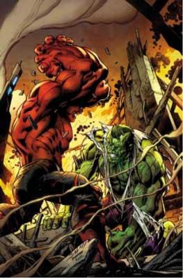 doc green vs hulk rojo