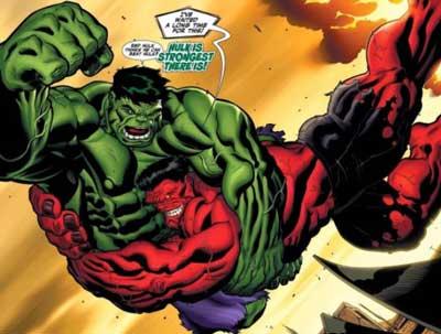 hulk vs hulk rojo