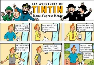 historia del cómic: las aventuras de tintin