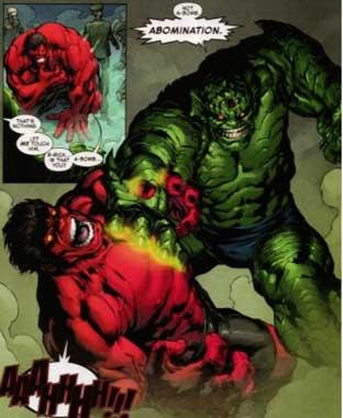rulk vs abominación