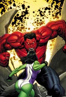 she-hulk vs hulk rojo