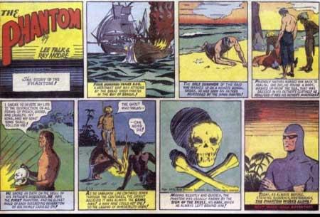 historia del cómic: the phantom