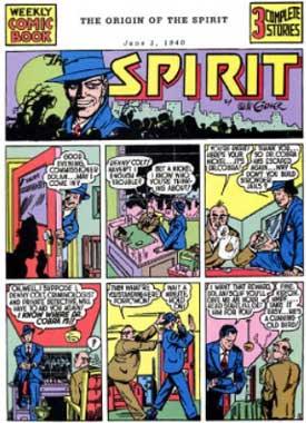 historia del cómic: the spirit