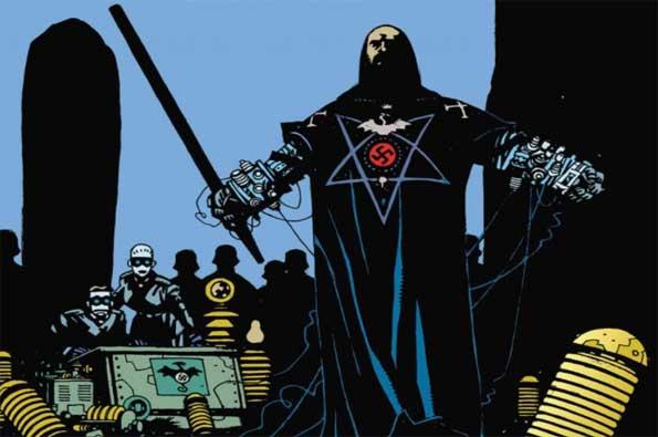 rasputin villano de Hellboy: Semilla de Destrucción