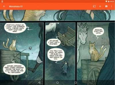 astonishing comic reader es una de las Mejores aplicaciones para leer cómics