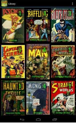 Challenger comics viewer es una de las Mejores aplicaciones para leer cómics
