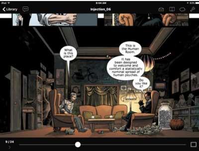 chunky es uno de las Mejores aplicaciones para leer cómics