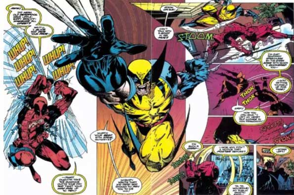 Deadpool vs Wolverine wolverine #88