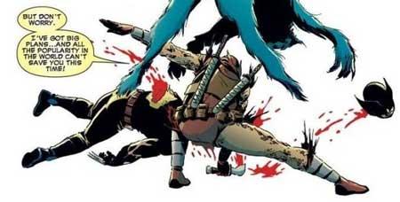 deadpool mata a wolverine