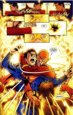 flash y superman prime