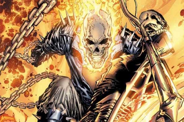 mejores antihéroes de marvel: ghost rider