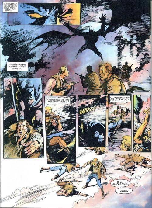 Mejores cómics de Batman. página del hijo del demonio