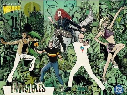 los invisibles es uno de los mejores cómics para adultos