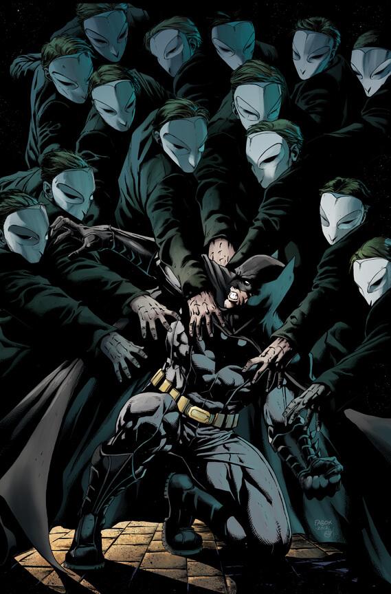 Mejores cómics de Batman: la corte de los búhos