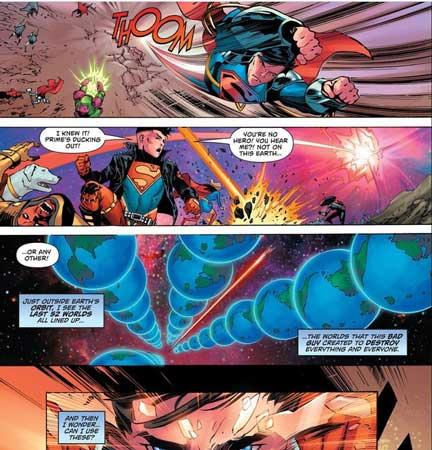 versiones alternas de superman