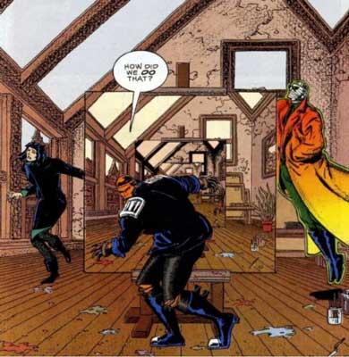 Doom Patrol de Grant Morrison cómic