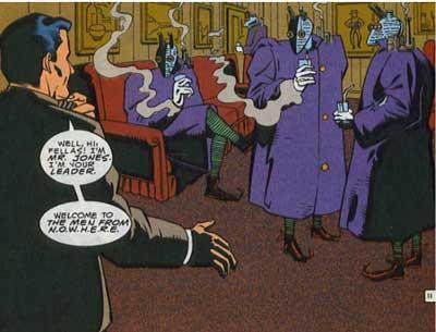 El señor Jones y los falsos Hombres de N.A.D.I.E
