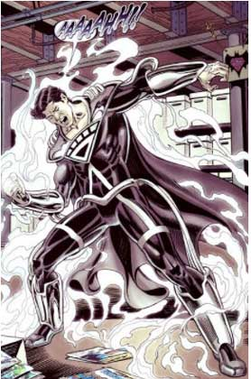 superboy prime black lantern