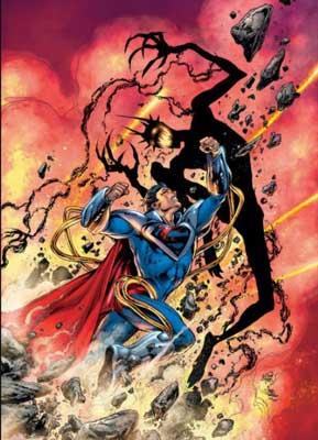 superboy prime vs batman que ríe