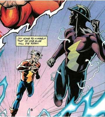 the rival es uno de los mejores villanos de Flash