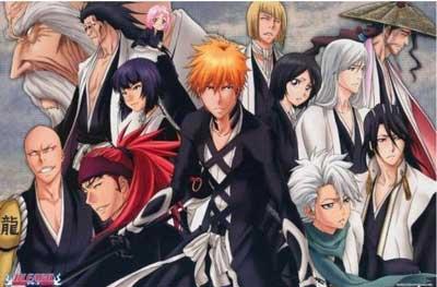bleach es uno de los Mejores animes shonen