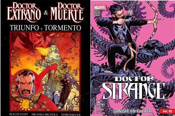 mejores cómics de dr strage