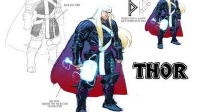 diseño rey de asgard