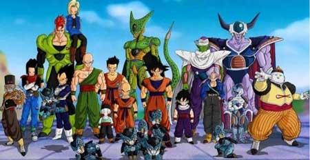 dragon ball z es uno de los Mejores animes shonen