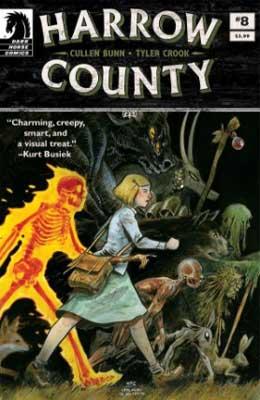 harrow county es de los mejores cómics de terror de la historia