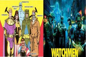 watchmen comic de alan moore