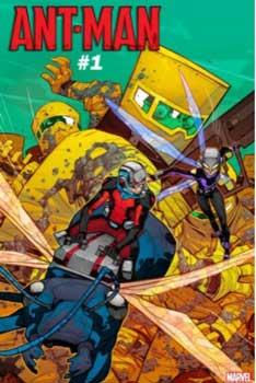 Scott y Cassie Lang en ant-man #1