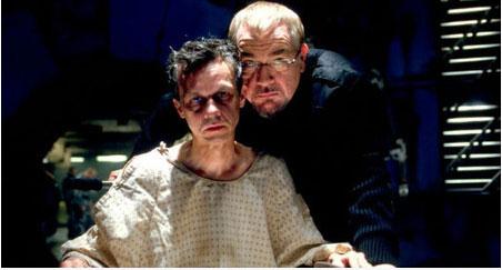 stryker y su hijo jason en x-men 2