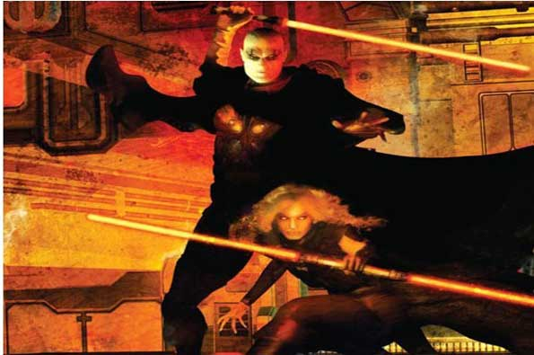 Darth Bane y Zannah