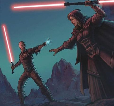 Darth Bane vs Zannah
