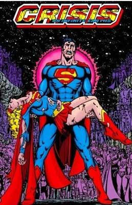 superman y supergirl en crisis en tierras infinitas