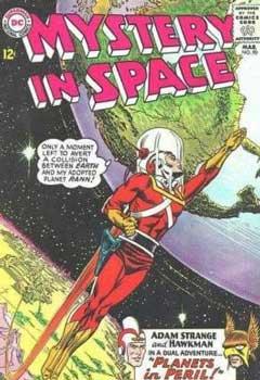 portada del comic mystery in space