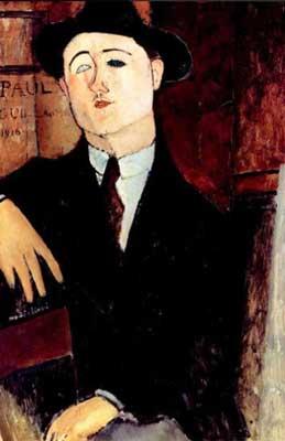 Retrato de Paul Guillaume