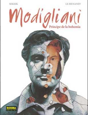 portada de Modigliani: Príncipe de la Bohemia
