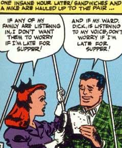 Linda Page y Bruce Wayne