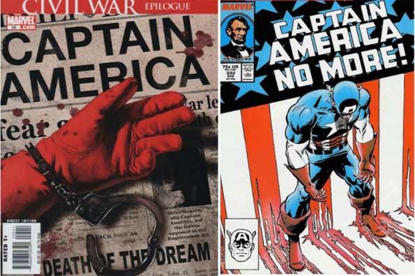 mejores cómics del Capitán América