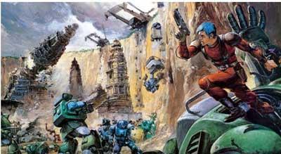 mejores animes mecha Armored Trooper Votoms