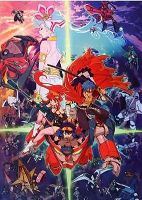 mejores animes mecha Tengen Toppa Gurren Lagann