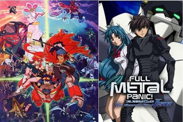mejores animes mecha