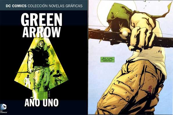 Green Arrow Año Uno historieta