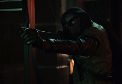 komodo en la serie de tv arrow