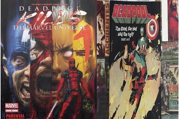 mejores cómics de Deadpool