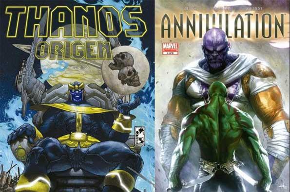 mejores cómics de Thano