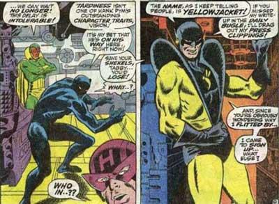 primera aparición de Yellowjacket