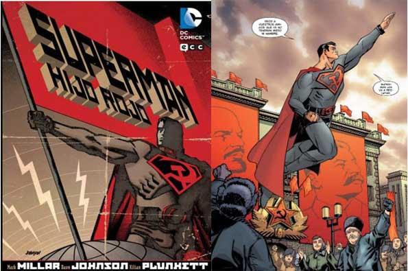 cómic superman hijo rojo