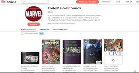 todo marvel comics es una web para Leer cómics online gratis